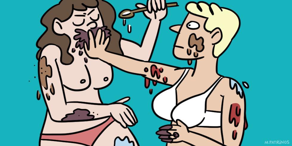 Female erotic massage for men