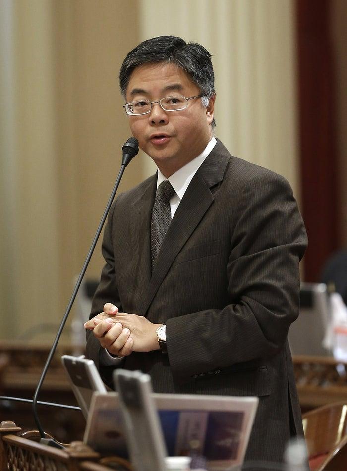 Rep. Ted Lieu, in the California Senate in 2014.