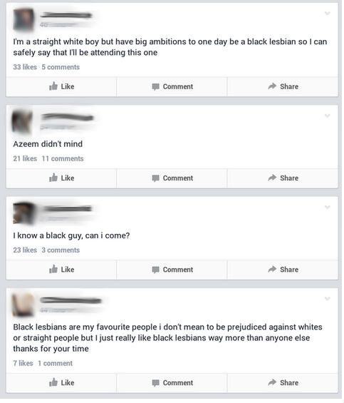 Lesbian facebook pages