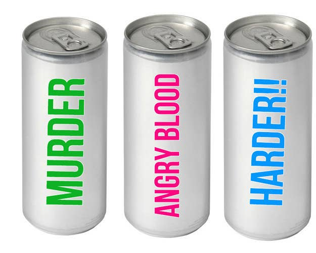 more appropriate names for energy drinks