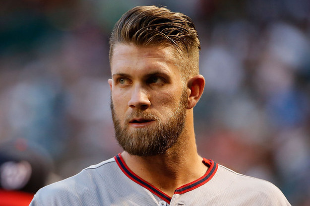 How To Get Bryce Harper Haircut 34 Times Actually Couldn