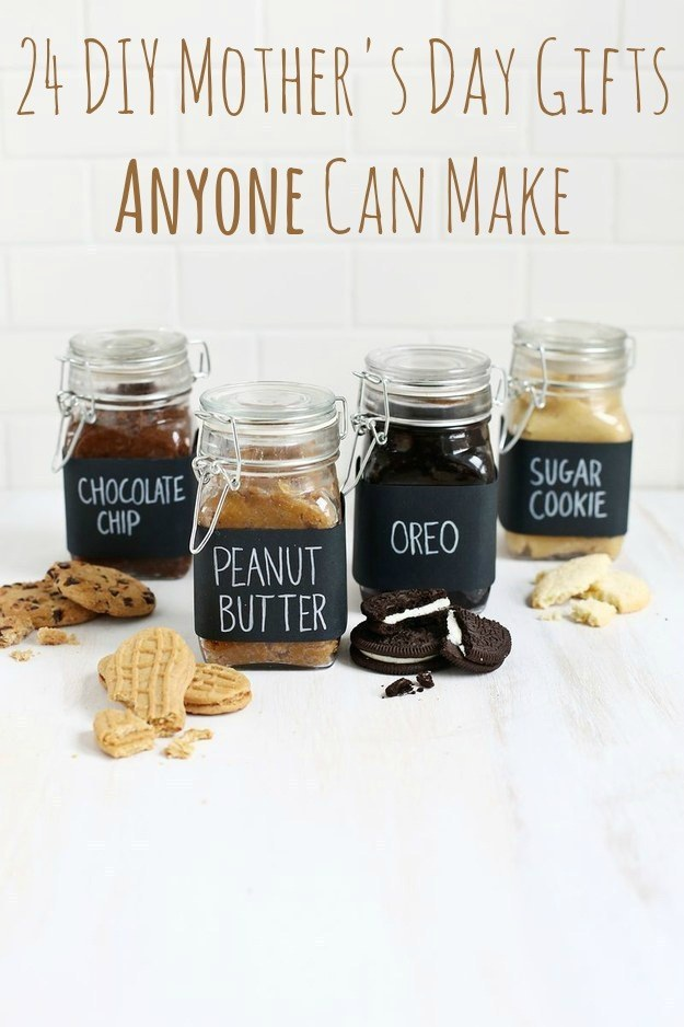 Homemade christmas gift ideas for mom from daughter