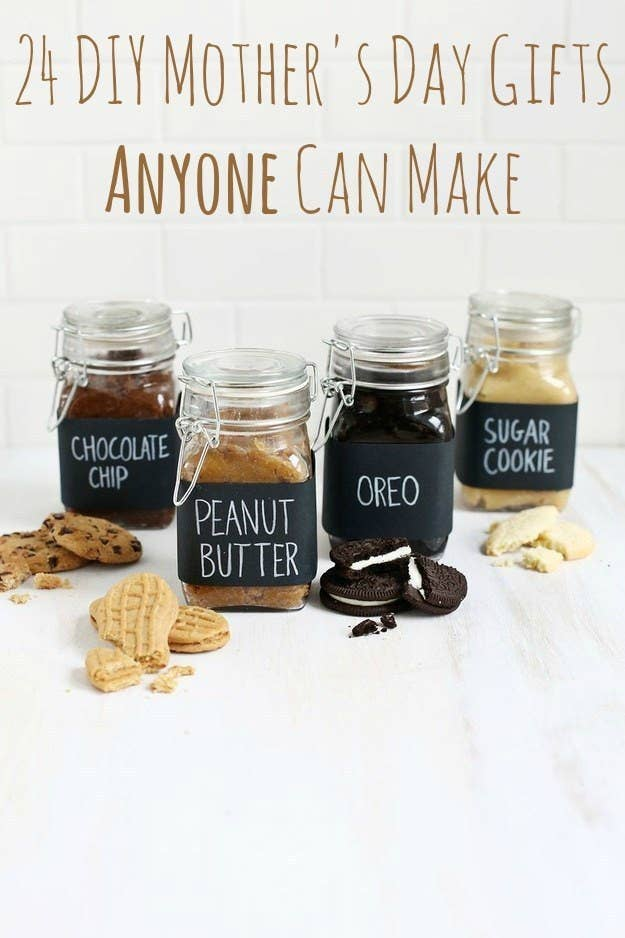 24 Ridiculously Easy DIY Mothers Day Gifts