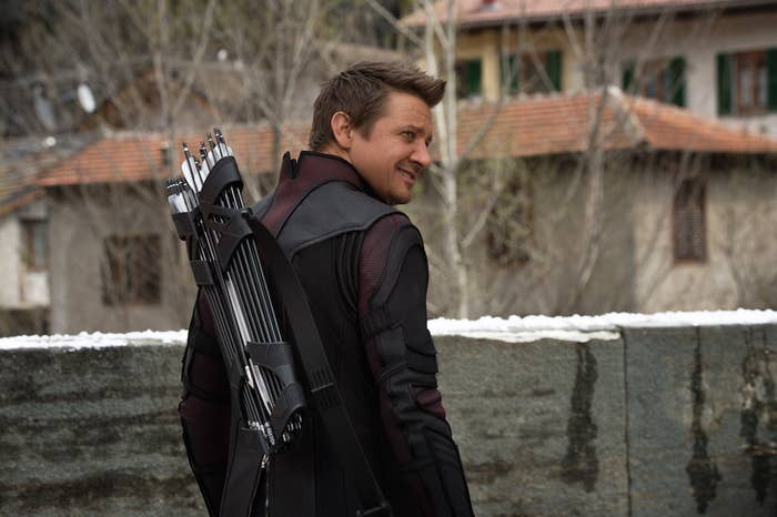 "The Reason Behind Hawkeye's Big Secret In ""Avengers: Age Of"