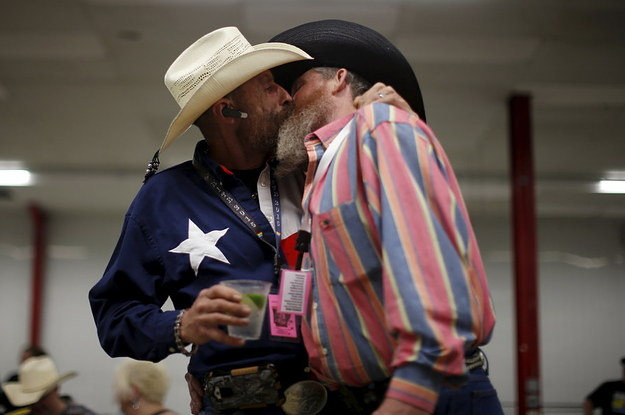 These Gorgeous Photos From A Gay Rodeo Will Trigger Your