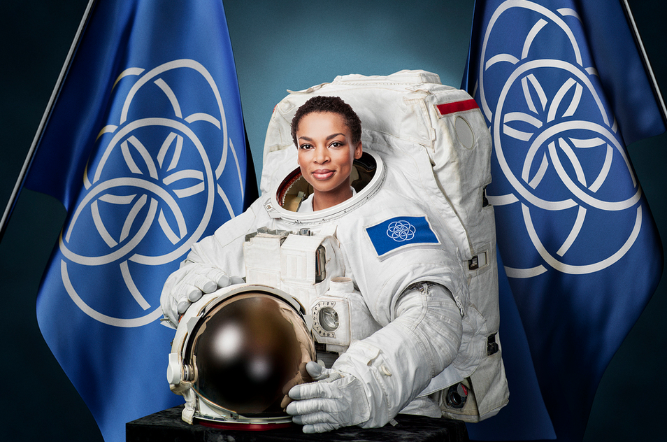 If Planet Earth Had A Flag, Here Is What It Would Look Like