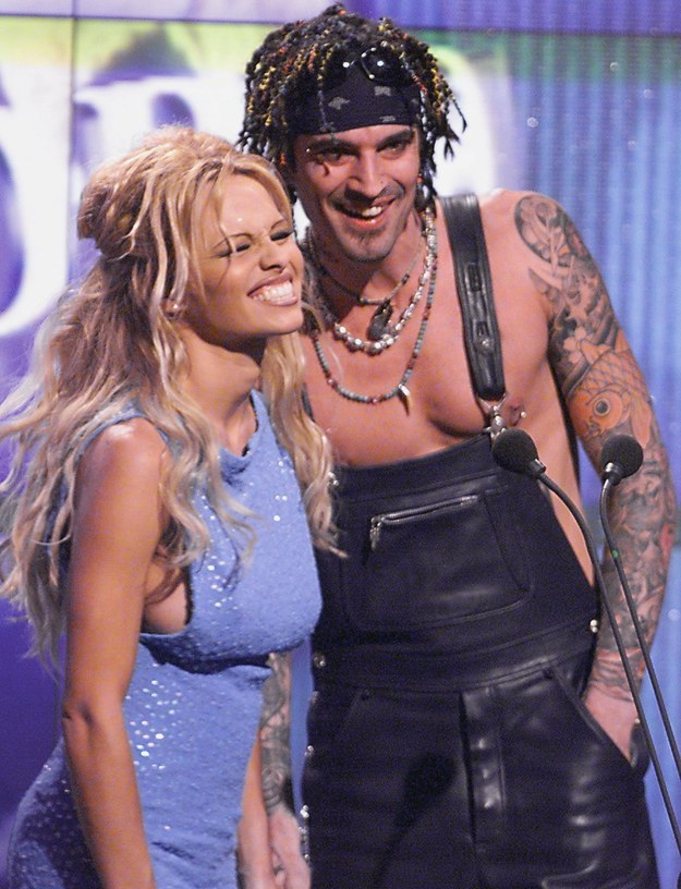 Pamela Anderson And Tommy Lee Naked