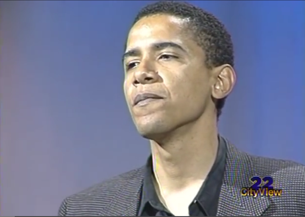 Watch This Rare, Recently Surfaced Obama Speech From 1995