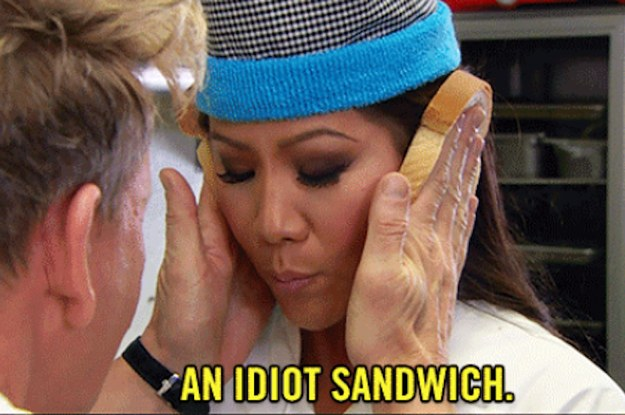 Gordon Ramsay Called Someone An Idiot Sandwich And It Turned Into