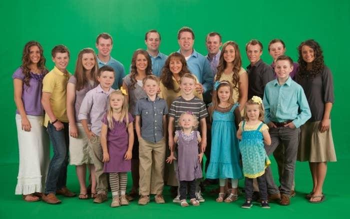 The Duggar family.