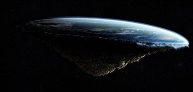 ¿Si los planetas y otros astros son esféricos, por qué la Tierra es plana?
