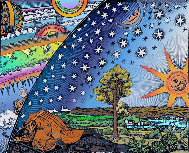 ¿Entonces por qué toda la bóveda celeste parece responder al hecho de que la Tierra es redonda?