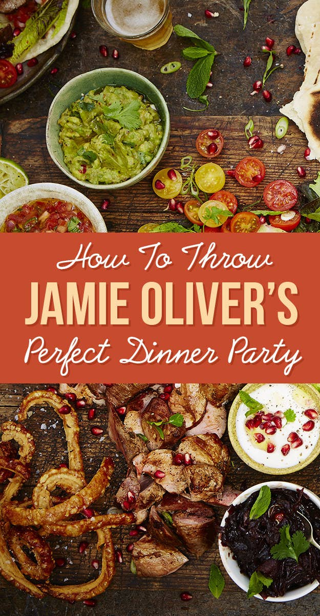 Jamie olivers guide to throwing the perfect dinner party share on facebook share forumfinder Images