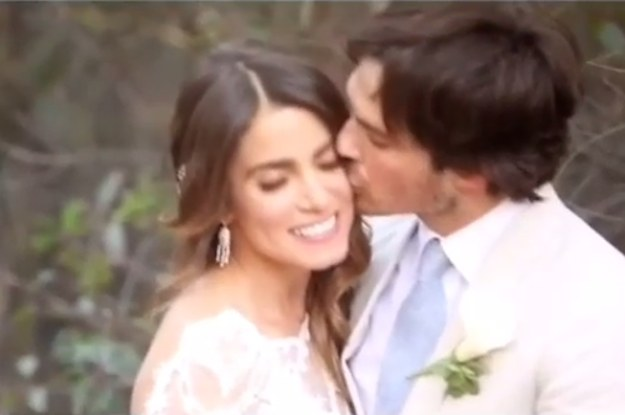Nikki reed ian somerhalders wedding video will make you weep junglespirit Choice Image