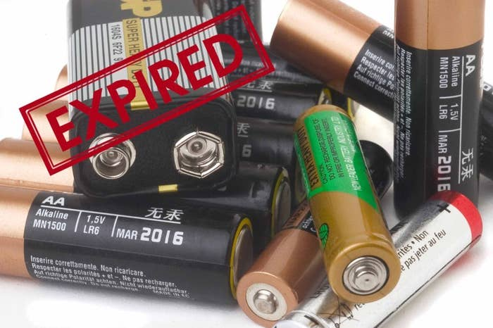 Batteries Start To Expire As Soon They X27 Re Made So The