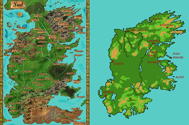 27 Mapas Que Cambiaran Como Piensas Respecto A Game Of Thrones