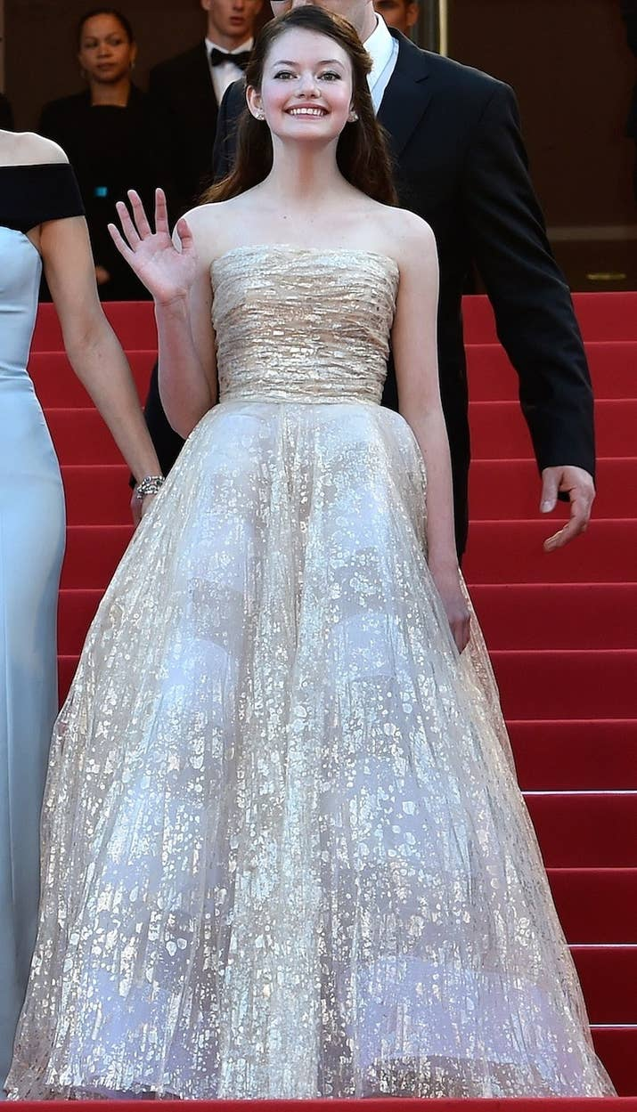 The Girl Who Played Renesmee Cullen Is Looking All Glam At Cannes ...