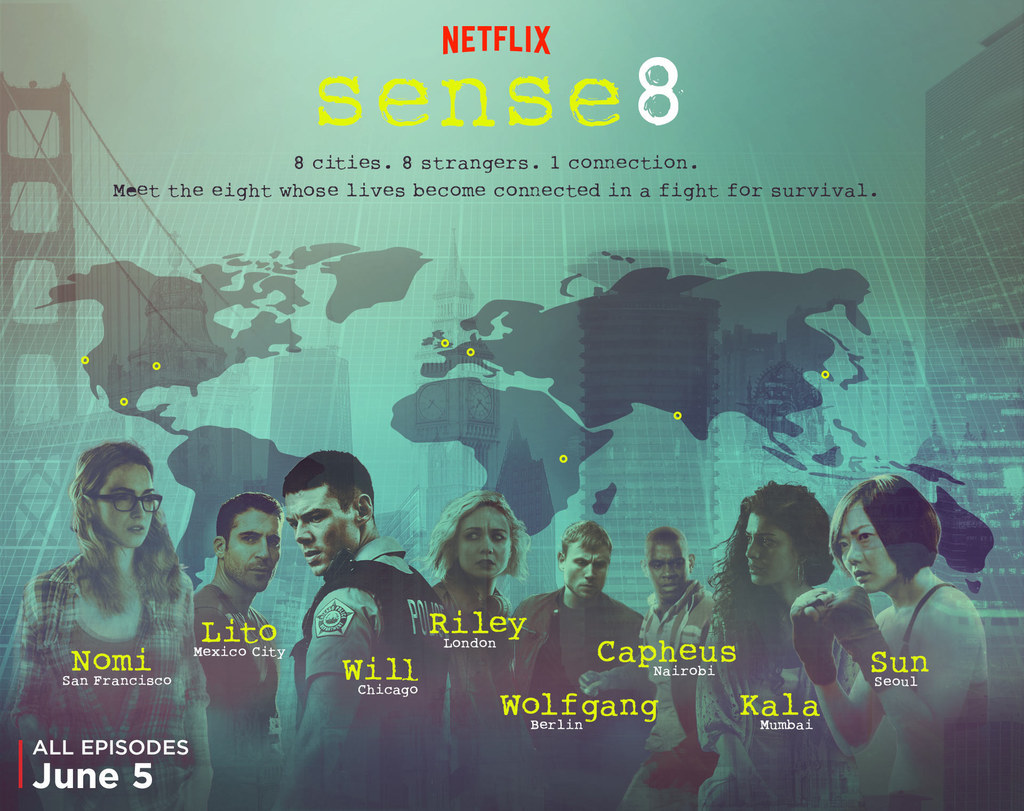"""Everything You Need To Know About The Eight Main Characters In """"Sense8"""""""