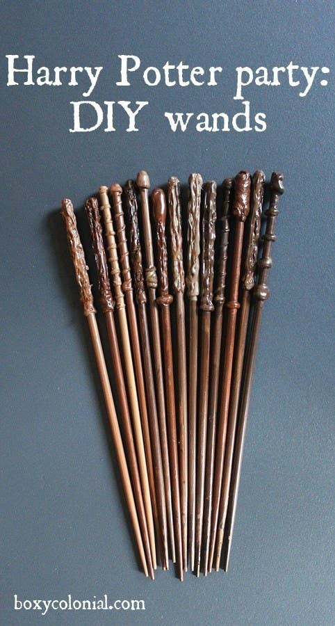 11 You Can Also DIY Wands Using Cooking Chop Sticks