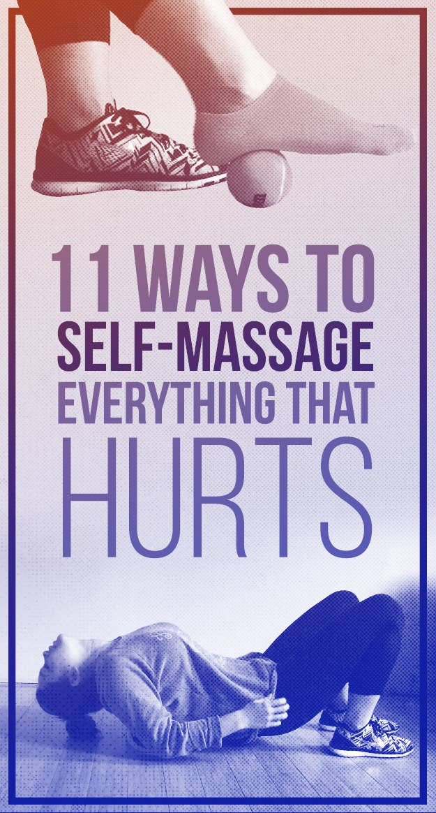11 seriously wonderful self massage tips that will make you feel amazing share on facebook share solutioingenieria Images