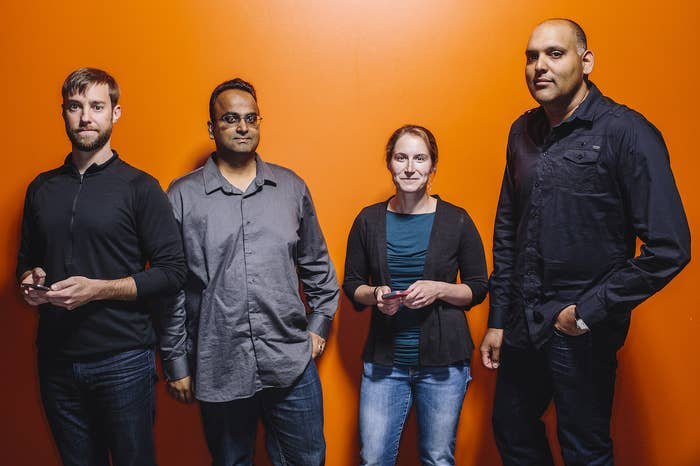 Google Photos Product Lead David Lieb, Engineering Lead Aravind Krishnaswamy, Research Lead Liz Shelly, and Head of Photos Anil Sabharwal.