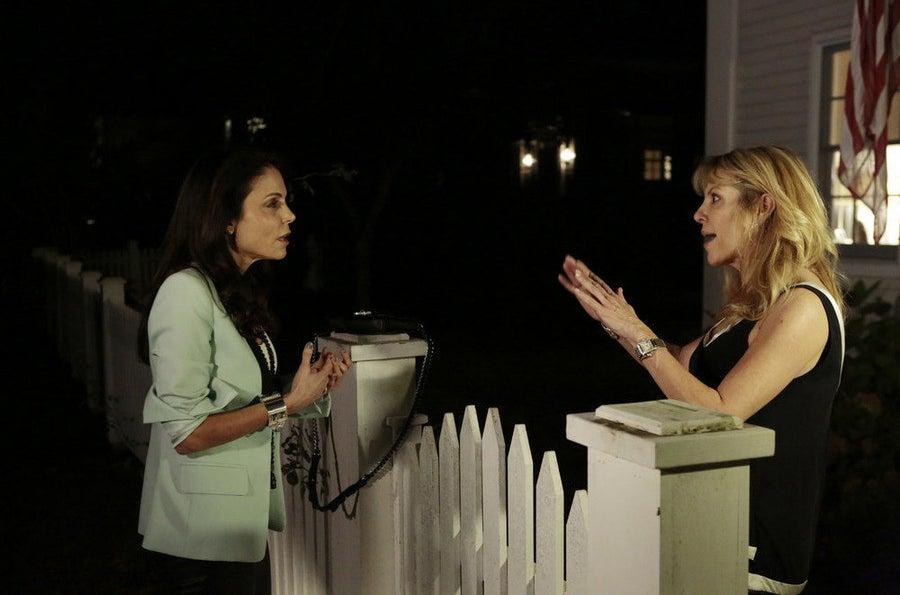 Frankel in Season 7 fighting with Ramona Singer.