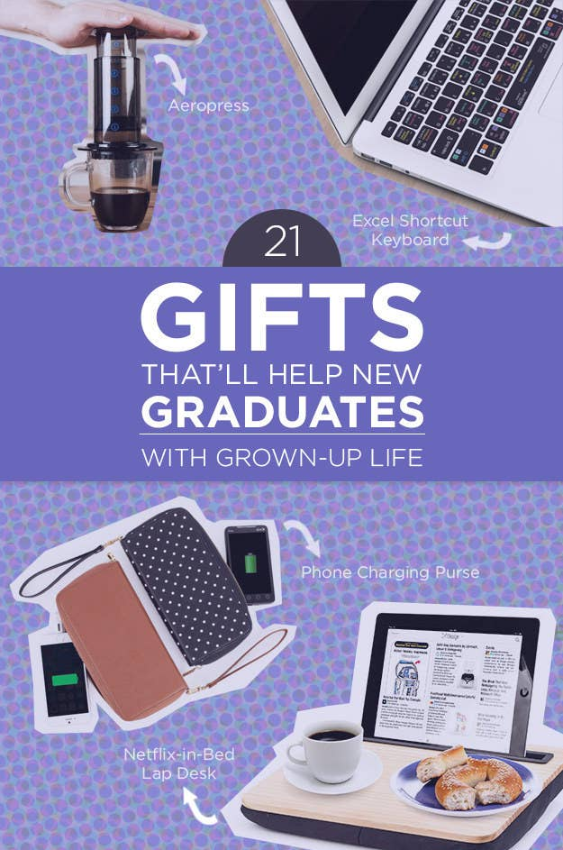 21 grad gifts that are wonderfully practical