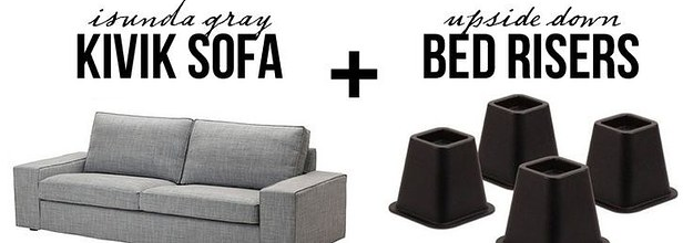19 Furniture Makeovers That Prove Legs, Can You Change The Legs On Kivik Sofa