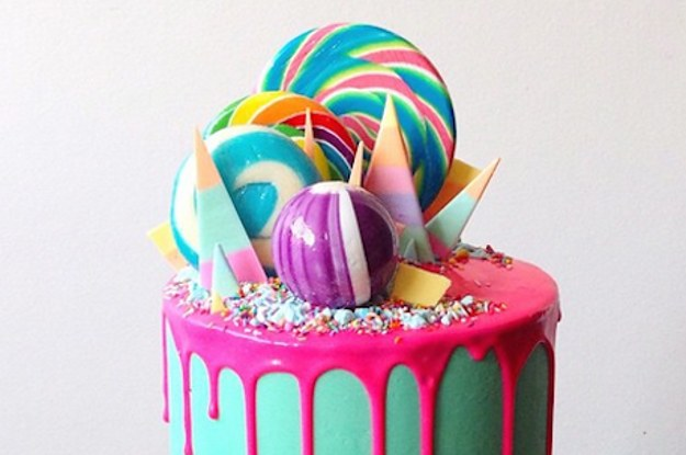 This Bakers Colorful Cake Creations Are Literally Too Beautiful To Eat
