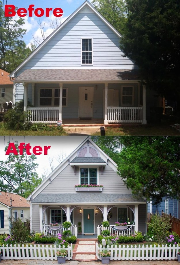15 home makeovers you have to see to believe House transformations exterior