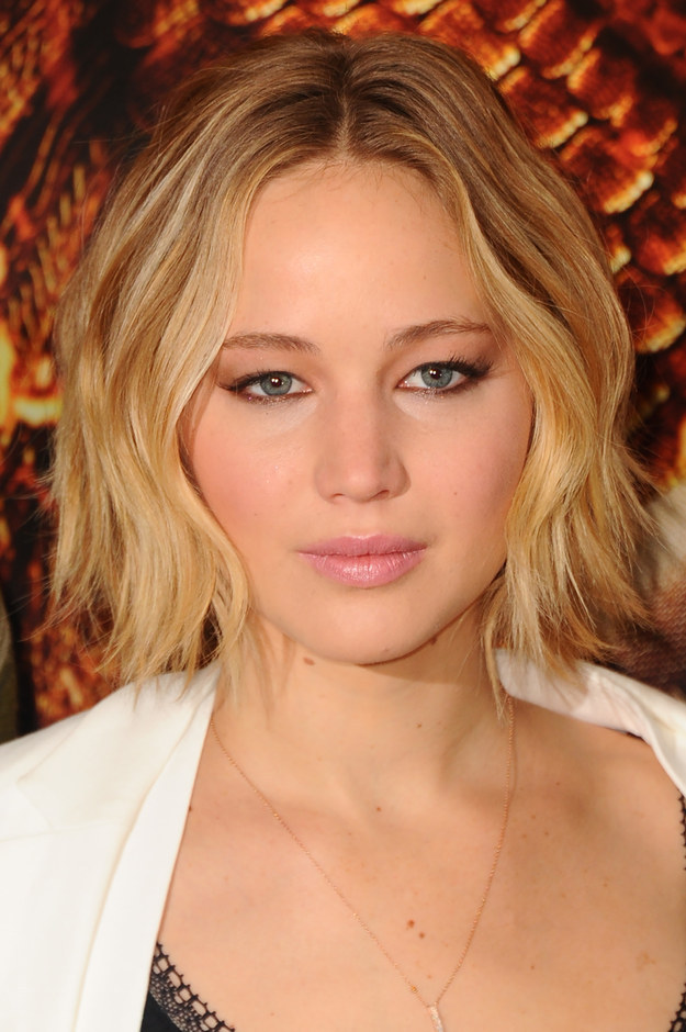 Jennifer Lawrence Has Long Hair Again, Remains Flawless