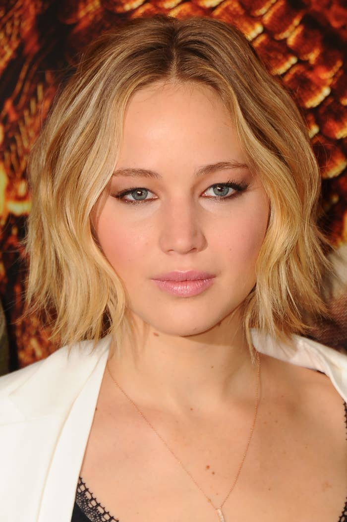 Jennifer Lawrence Has Long Hair Again Remains Flawless
