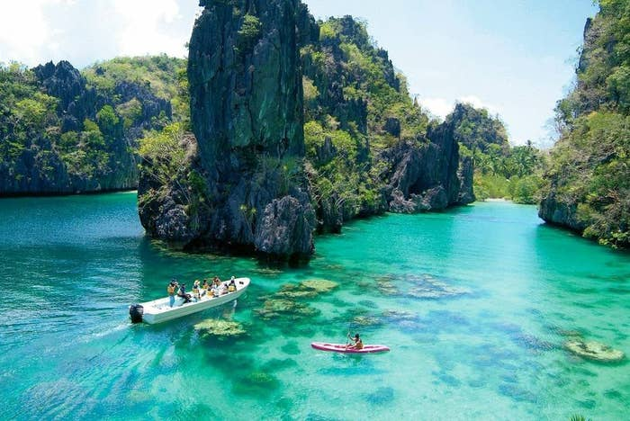 Often overlooked because of neighbouring beauty Thailand, the Philippines is one of the most stunning countries in the world. It's made up of over 7000 stunning islands in the Pacific Ocean! Palawan in particular has been called the most beautiful island in the world!