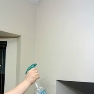how to clean stubborn mark off of walls