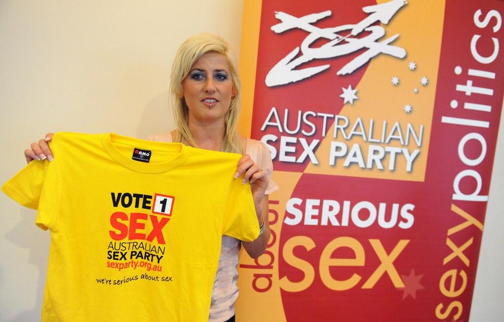 the australian sex party