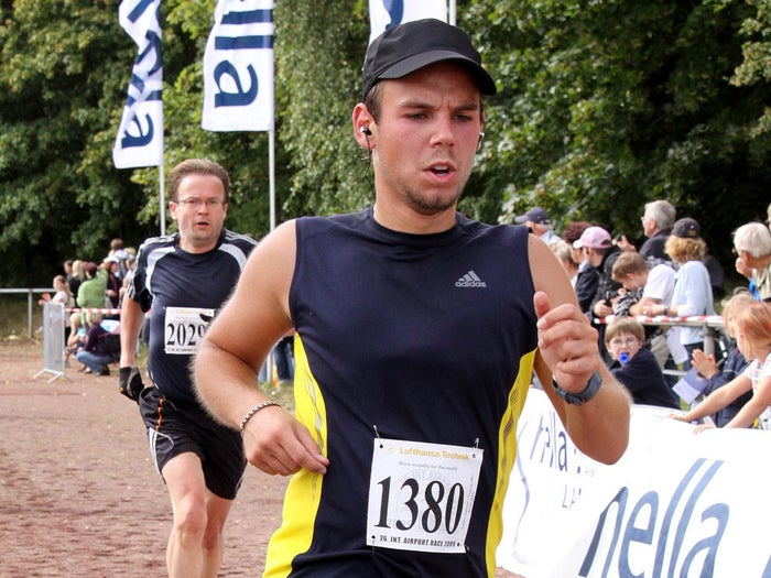 A 2009 photo of Germanwings co-pilot Andreas Lubitz.