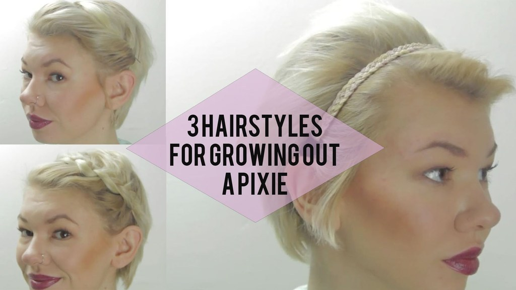 Check out this video for three simple styles that can transform your growing  pixie from awkward