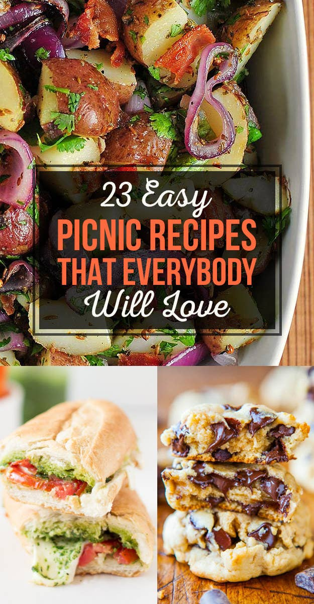 23 easy picnic recipes that everybody will love share on facebook share forumfinder Images