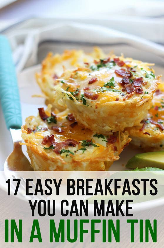 17 easy breakfasts you can make in a muffin tin share on facebook share forumfinder Gallery