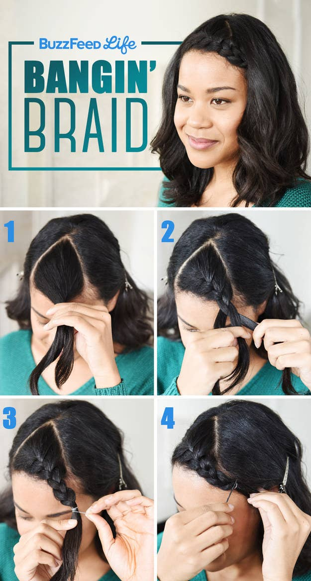 18 Ways To Get Your Bangs Out Of Your Face