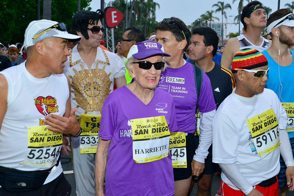 A 92-Year-Old Woman Just Finished A Marathon So You Have No Excuse To Skip The Gym Today