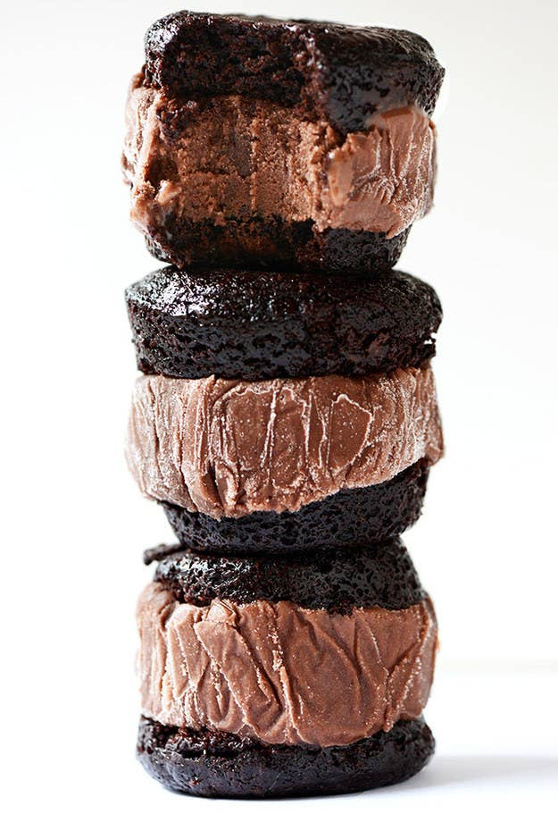 Recipe: Brownie Ice Cream Sandwiches