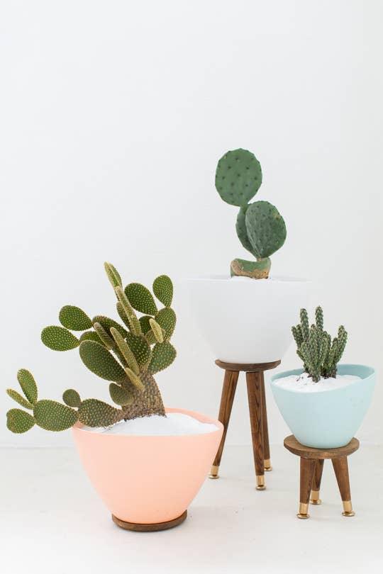 19 ideas geniales para usar los productos de ikea como tu jardín