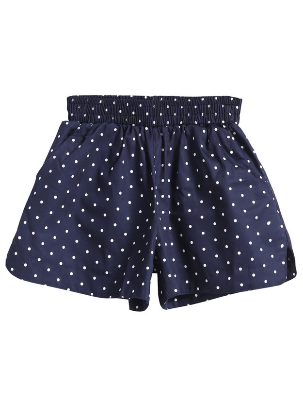 Romwe Polka Dot Shorts, $10.67