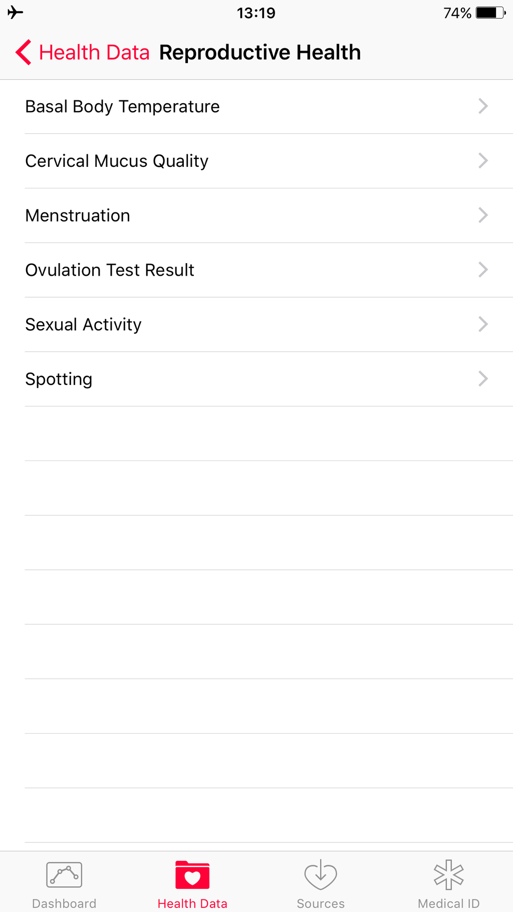 Here's Everything Apple's Health App Can Track About Your Period And Sex Life