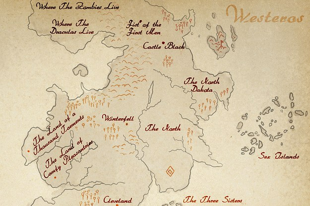 This game of thrones map shows a much more detailed westeros gumiabroncs Images