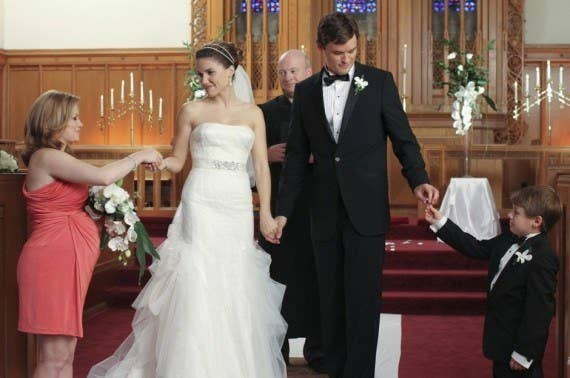 Brooke Designed Her Own Fairytale Wedding Gown GOALS