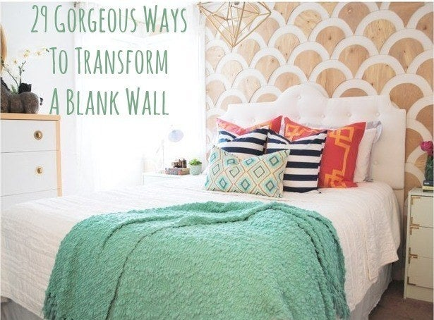 Bedroom Wall Decoration Ideas 29 wall decoration ideas that only look expensive
