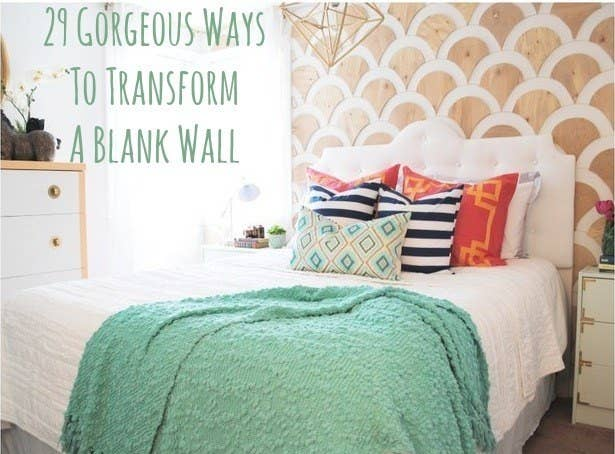 Share On facebook Share. 29 Wall Decoration Ideas That Only Look Expensive