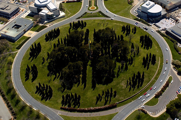 Image result for canberra big roundabout